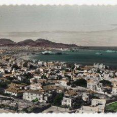 Postales: LAS PALMAS DE GRAN CANARIA. CIUDAD JARDÍN Y PUERTO DE LA LUZ. AÑOS 60.. Lote 56633322