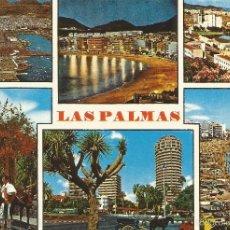 Postales: ** PV609 - POSTAL - LAS PALMAS DE GRAN CANARIA - VARIAS VISTAS DE LA CIUDAD. Lote 56693556