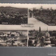 Postales: TARJETA POSTAL DE LAS PALMAS DE GRAN CANARIA. VARIAS VISTAS. Lote 56707520