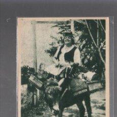 Postales: TARJETA POSTAL DE TENERIFE - UNA LECHERA.. Lote 56712416
