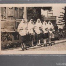 Postales: TARJETA POSTAL FOTOGRAFICA DE LAS PALMAS. MANTILLA CANARIA.. Lote 56712479