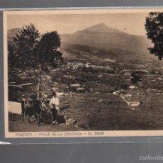 Postais: TARJETA POSTAL DE TENERIFE - VALLE DE LA OROTAVA. EL TEIDE.. Lote 56714039