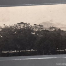 Postales: TARJETA POSTAL DE TENERIFE - PICO TEIDE Y GRAN HOTEL TAORO. 124. FOTO BAENA. Lote 56714865