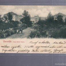 Postales: TARJETA POSTAL. TENERIFE. GRAN HOTEL TAORO. SELLO CERVEZA. VER SELLO EN EL DORSO. Lote 56911740