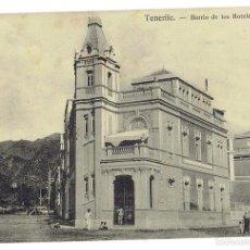 Postales: PS6697 TENERIFE 'BARRIO DE LOS HOTELES'. NOBREGAS. SIN CIRCULAR. PRINC. S. XX. Lote 56914879