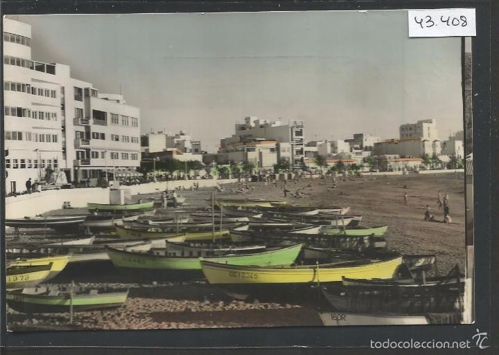LAS PALMAS DE GRAN CANARIA -10 - PLAYA DE LAS CANTERAS - (43.408) (Postales - España - Canarias Moderna (desde 1940))