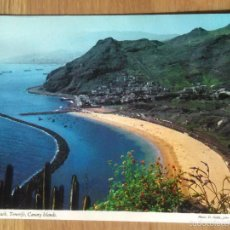 Postales: TENERIFE - PLAYA DE LAS TERESITAS. Lote 57133175