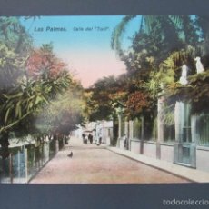 Postales: POSTAL LAS PALMAS. CALLE DEL TORIL. . Lote 57696395