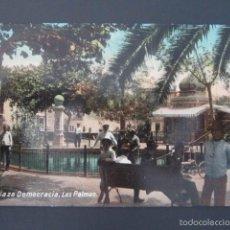 Postcards - POSTAL LAS PALMAS. PLAZA DEMOCRACIA. - 57696498