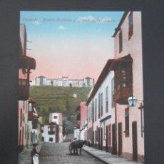 Postales: POSTAL TENERIFE. PUERTO OROTAVA Y GRAND HOTEL TAORO. . Lote 57696603
