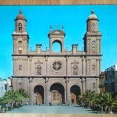Postales: LAS PALMAS DE GRAN CANARIA - CATEDRAL. Lote 57972460