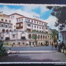 Postales: POSTAL SANTA CRUZ DE TENERIFE. HOTEL MENCEY. LITOGRAFÍA ROMERO.. Lote 58070910