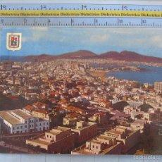 Cartes Postales: POSTAL DE GRAN CANARIA. AÑO 1965. LAS PALMAS, VISTA GENERAL, 591. Lote 58572241