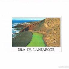Postales: POSTAL ANTIGUA LANZAROTE CANARIAS SIN CIRCULAR EL GOLFO. Lote 58666152