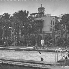 Postales: LAS PALMAS GRAN CANARIA.- PISCINA DEL GRAN HOTEL SANTA CATALINA. Lote 58732191