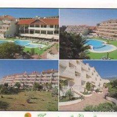 Postales: TENERIFE. CALLAO SALVAJE/ ADEJE. CIRCULADA DESDE MALTA EN 2001.. Lote 59800480
