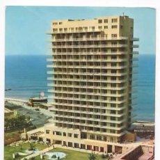 Postales: TENERIFE. PUERTO DE LA CRUZ . HOTEL SAN FELIPE. CIRCULADA DESDE GRAN BRETAÑA. CON SELLO. Lote 59805248