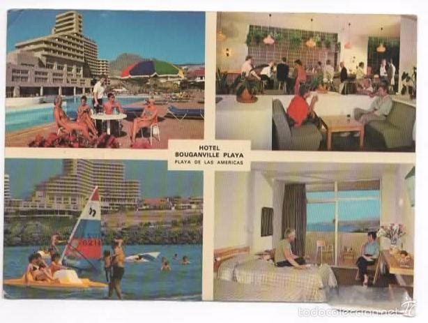 TENERIFE. PLAYA DE LAS AMERICAS. HOTEL BOUGANVILLE PLAYA (Postales - España - Canarias Moderna (desde 1940))