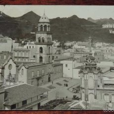 Postales: FOTO POSTAL DE SANTA CRUZ DE TENERIFE, VISTA PARCIAL, N 51, FOTOGRAFO JOAQUIN GONZALEZ ESPINOSA, J.G. Lote 60212371