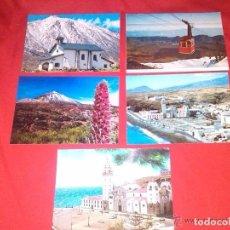 Postales: 5 POSTALES ANTIGUAS DE TENERIFE (SIN CIRCULAR)(16-509). Lote 61420459
