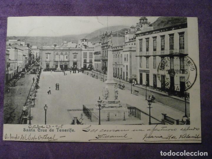POSTAL - ESPAÑA - ISLAS CANARIAS - SANTA CRUZ DE TENERIFE - SIN EDITOR - ESCRITA EN 1905 - (Postales - España - Canarias Antigua (hasta 1939))
