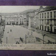 Postales: POSTAL - ESPAÑA - ISLAS CANARIAS - SANTA CRUZ DE TENERIFE - SIN EDITOR - ESCRITA EN 1905 -. Lote 61443179