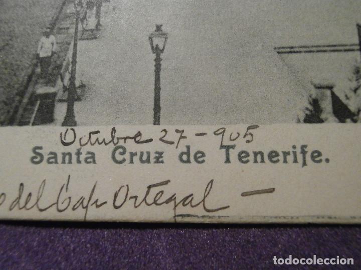 Postales: POSTAL - ESPAÑA - Islas Canarias - Santa Cruz de Tenerife - Sin editor - Escrita en 1905 - - Foto 2 - 61443179