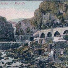 Postales: POSTAL BARRANCO DE SANTOS. TENERIFE. NOBREGA ENGLISH BAZAR. Lote 61660240