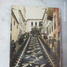 Postales: ANTIGUA POSTAL - Nº 80 TENERIFE - OROTAVA - ALFOMBRA DE FLORES NATURALES - CIRCULADA. Lote 61947496