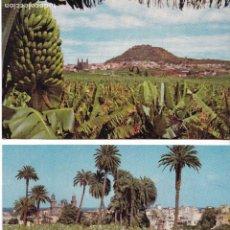 Postales: P- 6182. LOTE DE 5 POSTALES ISLAS CANARIAS. AÑO 1957.. Lote 62056580