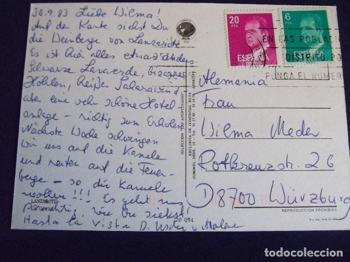 Postales: ISLAS CANARIAS-LANZAROTE-V1-LA GERIA - Foto 2 - 62071724