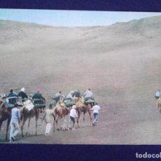 Postales: ISLAS CANARIAS-LANZAROTE-V1-CARAVANA. Lote 62072164