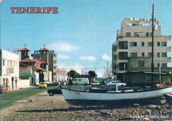 POSTAL LAS GALLETAS. TENERIFE. VISTA PARCIAL. CIRCULADA (Postales - España - Canarias Moderna (desde 1940))
