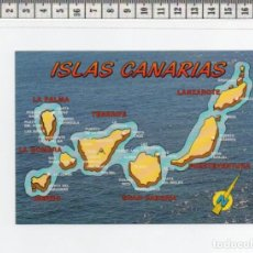Postales: 23.335 TARJETA POSTAL, MAPA , LAS PALMAS DE GRAN CANARIA, ISLAS CANARIAS. Lote 64301771