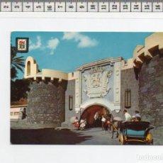 Postales: 23.338 TARJETA POSTAL, ENTRADA A PUEBLO CANARIO , LAS PALMAS DE GRAN CANARIA, ISLAS CANARIAS. Lote 64302567