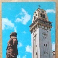 Postales: VILLA DE LA CANDELARIA - TORRE DE LA BASILICA DE NTRA. SRA. DE LA CANDELARIA. Lote 64752455