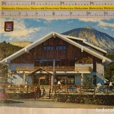 Postais: POSTAL DE TENERIFE. AÑO 1974. LAS CAÑADAS, MESÓN Y TEIDE. 839. Lote 65028811
