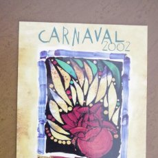 Postales: POSTAL CARNAVAL 2002 LAS PALMAS DE GRAN CANARIAS. Lote 66158218