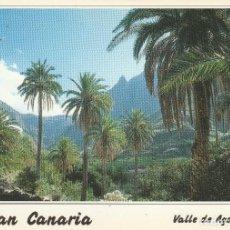 Postales: Nº 28796 POSTAL GRAN CANARIA VALLE DE AGAETE. Lote 66232090