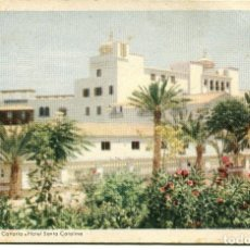 Postales: LAS PALMAS DE GRAN CANARIA-HOTEL SANTA CATALINA-1954. Lote 66974734