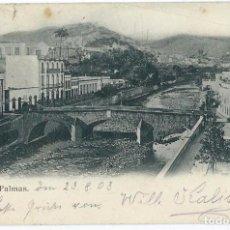 Postales: LAS PALMAS.- CON MATASELLO PAQUEBOT PLYMOUTH. Lote 67682757