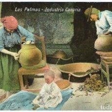 Postales: LAS PALMAS.- INDUSTRIA CANARIA. Lote 67684897