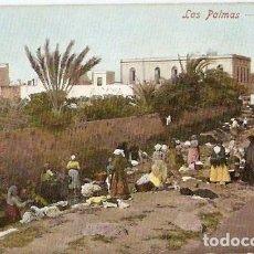 Postales: LAS PALMAS.- LAVANDERAS. Lote 67685109