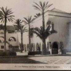 Postales: VESIV POSTAL LAS PALMAS DE GRAN CANARIA Nº10 PUEBLO CANARIO POSTAL MAL CONSERVADA MIRAR FOTO . Lote 67744193