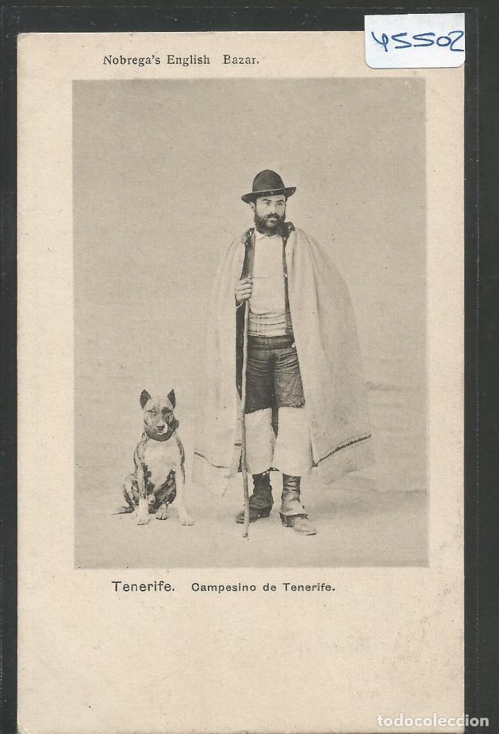 TENERIFE - CAMPESINO - VER REVERSO SIN DIVIDIR -(45.502) (Postales - España - Canarias Antigua (hasta 1939))