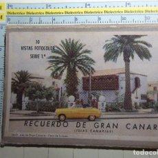 Postales: 10 POSTALES DE GRAN CANARIA. AÑOS 30 50. LAS PALMAS, 10 VISTAS FOTOCOLOR SERIE 1ª. MANEN. 1138. Lote 68786621