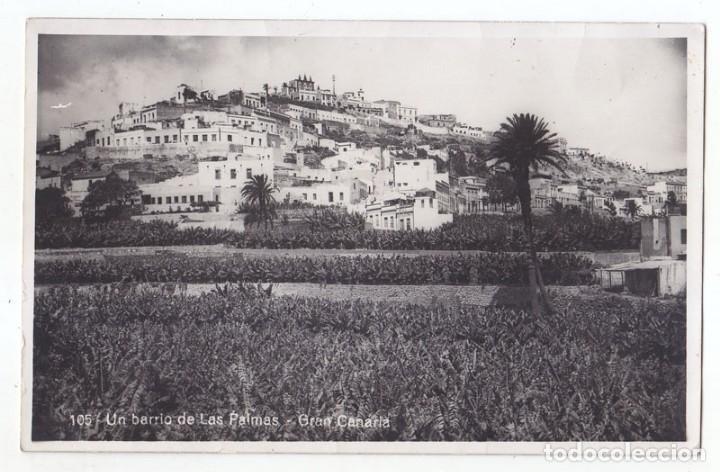 POSTAL. UN BARRIO DE LAS PALMAS. GRAN CANARIA. CANARIAS. FOTO EXPRES (Postales - España - Canarias Moderna (desde 1940))