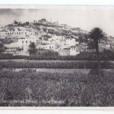 Postales: POSTAL. UN BARRIO DE LAS PALMAS. GRAN CANARIA. CANARIAS. FOTO EXPRES. Lote 70608625