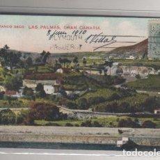 Postales: BARRANCO SECO LAS PALMAS GRAN CANARIA. CIRCULADA.. Lote 72112575