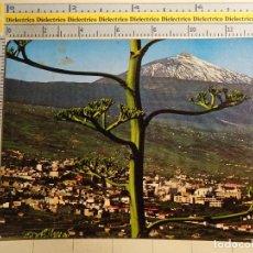 Postais: POSTAL DE TENERIFE. AÑO 1978. LA OROTAVA, PANORÁMICA, TEIDE. 600. Lote 73844471